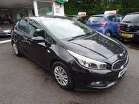 USED 2014 14 KIA CEED 1.4 CRDI 1 5d 89 BHP Comprehensive Service History, Just Serviced by ourselves, One Owner from new, NEW MOT (to be completed, Excellent on fuel! Only £20 Road Tax!