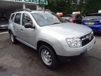 USED 2014 64 DACIA DUSTER 1.6 ACCESS 5d 105 BHP Just Serviced by ourselves, MOT until July 2018, One Previous Owner, Four Wheel Drive