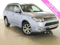 USED 2014 14 MITSUBISHI OUTLANDER 0.0 PHEV GX 3H 5d AUTO 162 BHP One Owner From New/Bluetooth