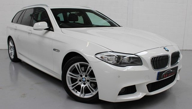 2012 62 BMW 5 SERIES 2.0 520d M Sport Touring 5dr