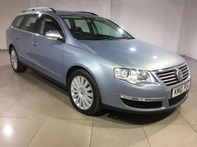 View our 2010 10 VOLKSWAGEN PASSAT 2.0 HIGHLINE PLUS TDI DSG 5d AUTO 138 BHP