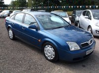 USED 2002 52 VAUXHALL VECTRA 1.8 LS 16V 5d 121 BHP AFFORDABLE FAMILY CAR IN EXCELLENT CONDITION, DRIVES SUPERBLY WITH EXCELLENT SERVICE HISTORY