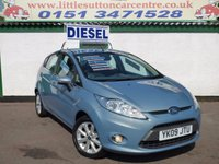 USED 2009 09 FORD FIESTA 1.4 ZETEC TDCI 5d 68 BHP ONE OWNER, DIESEL, GREAT MPG