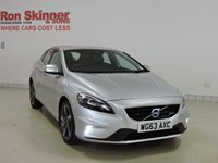 USED 2013 63 VOLVO V40 2.0 D3 R-DESIGN LUX NAV 5d 148 BHP with rear sensors