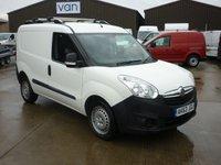 2013 VAUXHALL COMBO VAN 1.3 CDTi 2300 L1 H1 S/S ECOFLEX  90 BHP £5495.00