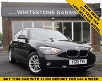 USED 2011 61 BMW 1 SERIES 2.0 116D SE 5d 114 BHP NEW SHAPE, FSH ONLY £30 A YEAR TO TAX FITTED BLUE TOOTH, DYNAMIC DRIVE, CRUISE CONTROL,  PARKING SENSORS.