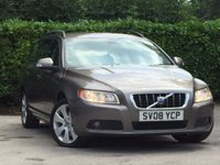 USED 2008 08 VOLVO V70 2.4 D SE 5d 163 BHP A SUPERB 3 OWNER VEHICLE IN GREAT CONDITION INSIDE AND OUT # GOOD SERVICE HISTORY CONSISTING OF 9 SERVICE STAMPS THE LAST CARRIED OUT AT 61500 MILES ON THE 3/01/2017 #
