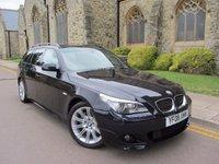 2008 BMW 5 SERIES 3.0 525D M SPORT TOURING 5d AUTO 195 BHP £8495.00