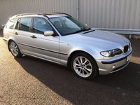 USED 2003 03 BMW 3 SERIES 2.0 318I SE TOURING 5d AUTO 141 BHP FSH, GREAT CONDITION, RAC WARRANTY