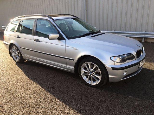 2003 03 BMW 3 SERIES 2.0 318I SE TOURING 5d AUTO 141 BHP