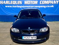 USED 2007 57 BMW 1 SERIES 1.6 116I SE 5d 114 BHP METALLIC MONACO DARK BLUE METALLIC BMW 116 SE 6 SPEED AIR CON BLACK ALLOYS REAR PARK DISTANCE MOT HISTORY AFFORDABLE AND ECONOMICAL MOTORING