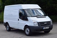 USED 2011 61 FORD TRANSIT 2.2 350 MWB MEDIUM ROOF 5d 115 BHP FWD DIESEL PANEL MANUAL VAN ONE OWNER FULL S/H  SPARE KEY