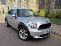 2012 MINI COUNTRYMAN 1.6 ONE 5d 98 BHP £8995.00