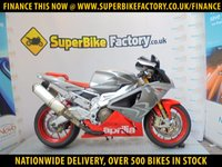 USED 2007 07 APRILIA RSV1000  GOOD & BAD CREDIT ACCEPTED, OVER 500+ BIKES