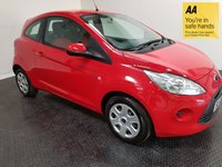 USED 2013 63 FORD KA 1.2 EDGE 3d 69 BHP SERVICE HISTORY-IDEAL FIRST CAR-A/C