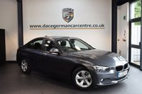 USED 2013 62 BMW 3 SERIES 2.0 320D EFFICIENTDYNAMICS 4DR 161 BHP + FULL BMW SERVICE HISTORY + 1 OWNER FROM NEW + BLUETOOTH + CRUISE CONTROL + CLIMATE CONTROL + RAIN SENSORS + PARKING SENSORS + 17 INCH ALLOY WHEELS +