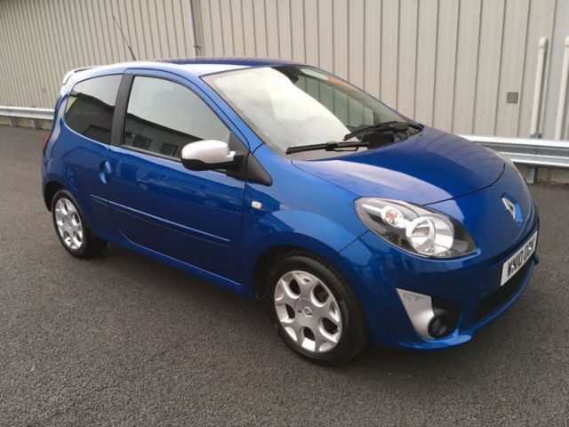 2010 10 RENAULT TWINGO 1.1 GT TURBO 16V 100 BHP, RAPID HOT HATCH!