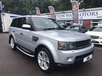 USED 2010 10 LAND ROVER RANGE ROVER SPORT 3.0 TDV6 HSE 5d 245 BHP 0% AVAILABLE ON THIS CAR PLEASE CALL 01204 317705