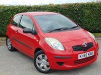 USED 2006 55 TOYOTA YARIS 1.0 T2 VVT-I 3d  * IDEAL FIRST CAR * 12 MONTHS AA BREAKDOWN COVER *