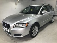 USED 2010 59 VOLVO V50 2.0 D S 5d AUTO 136 BHP Full service history,                                   Full leather upholstery,    Auxiliary input socket,    Cargo/Load cover