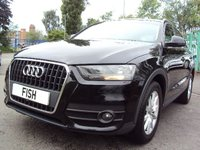 USED 2012 12 AUDI Q3 2.0 TDI SE 5d 138BHP NAVIGATION+CLIMATE+PARKING+CDC