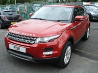 USED 2012 12 LAND ROVER RANGE ROVER EVOQUE 2.2 SD4 PURE 5d 190BHP 4x4  LEATHER HEATED SEATS+MEDIA+CDC