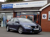USED 2015 65 HONDA CIVIC 1.3 I-VTEC S NAVI 5dr  * Face Lift & Sat Nav * *ONLY 9.9% APR with FREE Servicing*