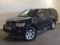 USED 2011 60 MITSUBISHI L200 2.5 DI-D 4X4 BARBARIAN LB DCB 1d AUTO 175 BHP SAT NAV LEATHER CANOPY ONE OWNER FSH NO VAT NOW SOLD.