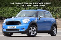 USED 2013 13 MINI COUNTRYMAN 1.6 ONE 5d 98 BHP Full Service History - TLC Warranty Package Worth £299