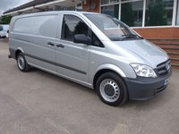 USED 2012 12 MERCEDES-BENZ VITO 116 CDI LWB, [EURO 5] 160 BHP, AIR CONDITIONING, 1 COMPANY OWNER