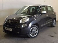 USED 2014 14 FIAT 500L 1.2 MULTIJET LOUNGE 5d 85 BHP SUNROOF LEATHER CRUISE BLUETOOTH SUNROOF. STUNNING GREY/WHITE WITH PART GREY LEATHER TRIM. START/STOP SYSTEM. CRUISE CONTROL. 16 INCH ALLOYS. PARKING SENSORS. BLUETOOTH PREP. AIR CON. R/CD PLAYER. MFSW. MOT 03/18. ONE PREV OWNER. SERVICE HISTORY. FCA FINANCE APPROVED DEALER. TEL 01937 849492
