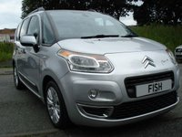 USED 2011 11 CITROEN C3 PICASSO 1.6 PICASSO EXCLUSIVE HDI 5d 90BHP TOP SPEC+ALLOYS+MEDIA+PHONE+CD