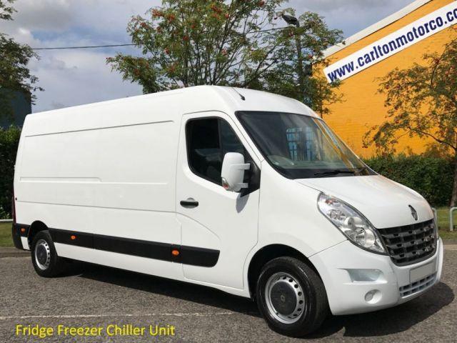 2013 13 RENAULT MASTER 2.3 LM35 DCI 125 L3 LWB [ FRIDGE CHILLER ] H2 Van Ex Lease Free UK Delivery