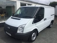 2013 FORD TRANSIT T250 2.2 TDCi 100 6-SPEED SWB  £7995.00