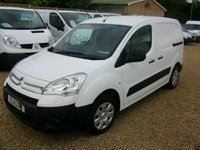 USED 2011 11 CITROEN BERLINGO 1.6 625 LX L1 HDI 1d 75 BHP EXTREMELY CLEAN VAN 8 STAMPS IN THE SERVICE BOOK