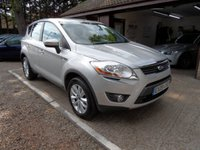 USED 2009 09 FORD KUGA 2.0 TITANIUM TDCI AWD 5d 134 BHP 1 OWNER FROM NEW, FULL SERVICE HISTORY, 2 KEYS, CRUISE CONTROL, SONY DAB RADIO WITH AUX CONNECTION