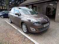 USED 2010 10 RENAULT GRAND SCENIC 1.5 PRIVILEGE TOMTOM DCI 5d 105 BHP COLOUR SAT-NAV, CRUISE CONTROL, 2 KEYS, USB AND AUX CONNECTION, 2 OWNERS