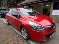 USED 2014 14 RENAULT CLIO 1.1 DYNAMIQUE MEDIANAV 5d 75 BHP FULL SERVICE HISTORY, 2 OWNER, 2 KEYS, SAT-NAV, BLUETOOTH CONNECTION, USB AND AUX