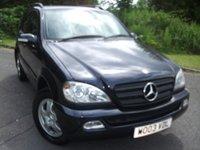 2003 MERCEDES-BENZ M CLASS 2.7 ML270 CDI 5d AUTO 163 BHP £3295.00