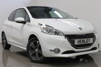 USED 2013 62 PEUGEOT 208 1.2 INTUITIVE 3d 82 BHP