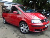 USED 2004 54 SEAT ALHAMBRA 1.9 STYLANCE TDI 5d AUTO 114 BHP GREAT VALUE DIESEL 7 SEATER