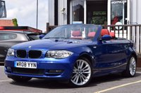 USED 2008 08 BMW 1 SERIES 2.0 118I SE 2d AUTO 141 BHP RED LEATHER+AUTO+HTD SEATS