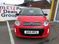 USED 2015 15 CITROEN C1 1.0 TOUCH 3d 68 BHP JUST ARRIVED LOW TAX LOW INSURANCE