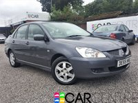 USED 2005 55 MITSUBISHI LANCER 1.6 EQUIPPE 4d AUTO 97 BHP 2 PREVIOUS OWNERS + FSH