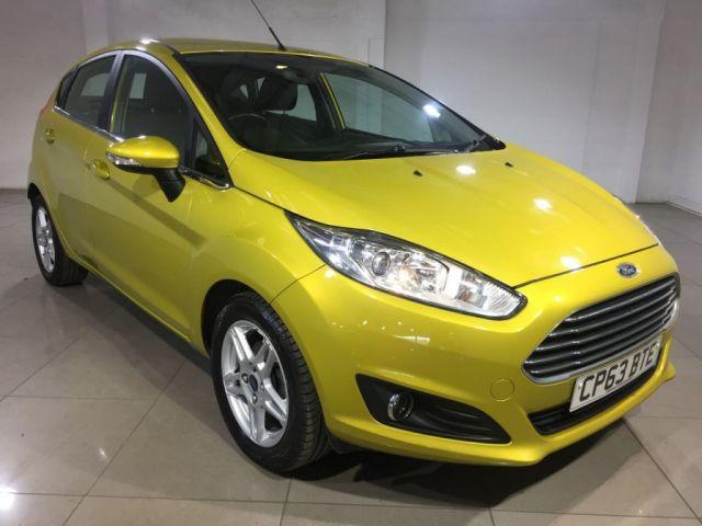 View our 2014 63 FORD FIESTA 1.5 ZETEC TDCI 5d 74 BHP