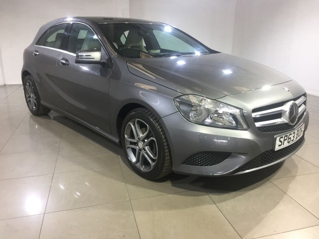 View our 2013 63 MERCEDES-BENZ A CLASS 1.5 A180 CDI BLUEEFFICIENCY SPORT 5d 109 BHP