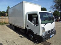 USED 2014 14 NISSAN NT400 CABSTAR 3.0 DCI 35.15 C/C 1d 145 BHP
