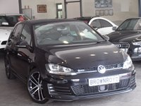 USED 2013 63 VOLKSWAGEN GOLF 2.0 GTD DSG 5d AUTO 182 BHP SAT NAV+HEATED-LEATHER+FVWSH+