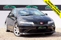 "USED 2009 09 HONDA CIVIC 2.0 I-VTEC TYPE-R 3d 198 BHP **£0 DEPOSIT FINANCE AVAILABLE**RESERVE WITH A £99 FULL REFUNDABLE DEPOSIT** 18"" ALLOYS, CD/MP3 PLAYER, CLIMATE CONTROL, AUTO ELECTRIC WINDOWS, HEATED ELECTRIC WING MIRRORS, STEERING CONTROLS, HALF SUEDE UPHOLSTERY"