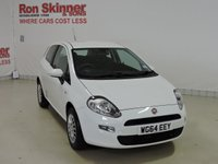 USED 2014 64 FIAT PUNTO 1.2 POP 3d 69 BHP with 15in Alloys